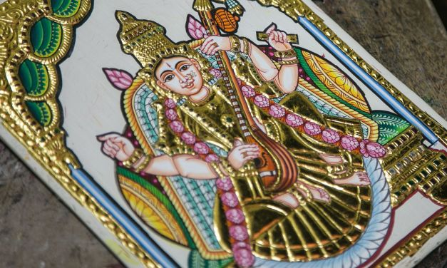 Discovering The Art Of Tanjore Paintings In Southern India
