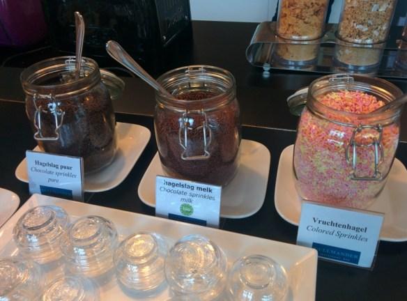 Breakfast Sprinkle Buffet at WestCord Hotel Delft