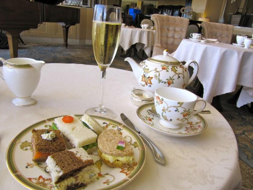 Phoenician Tea Sandwiches Plate