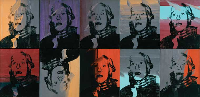 Andy Warhol. Self-Portrait Strangulation, 1978. Tate: ARTIST ROOMS Tate and National Galleries of Scotland. Lent by Anthony d'Offay