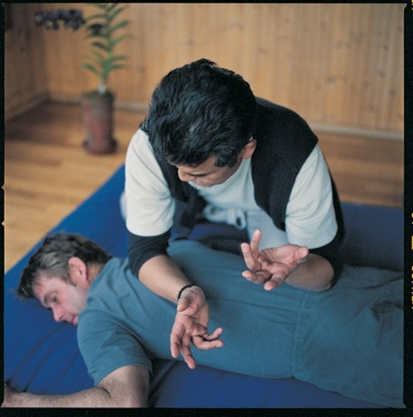 The special Shiatsu massage at Ten Thousand Waves