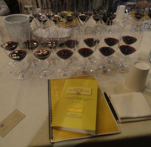 Rutherford Dust tasting event