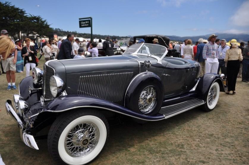 Most Elegant Open Car-1933 Auburn12-165S  Salon Speedster