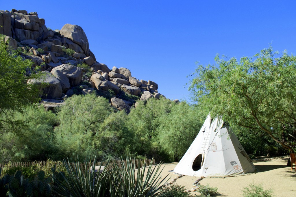 Boulders Tipi by Susan Lanier-Graham