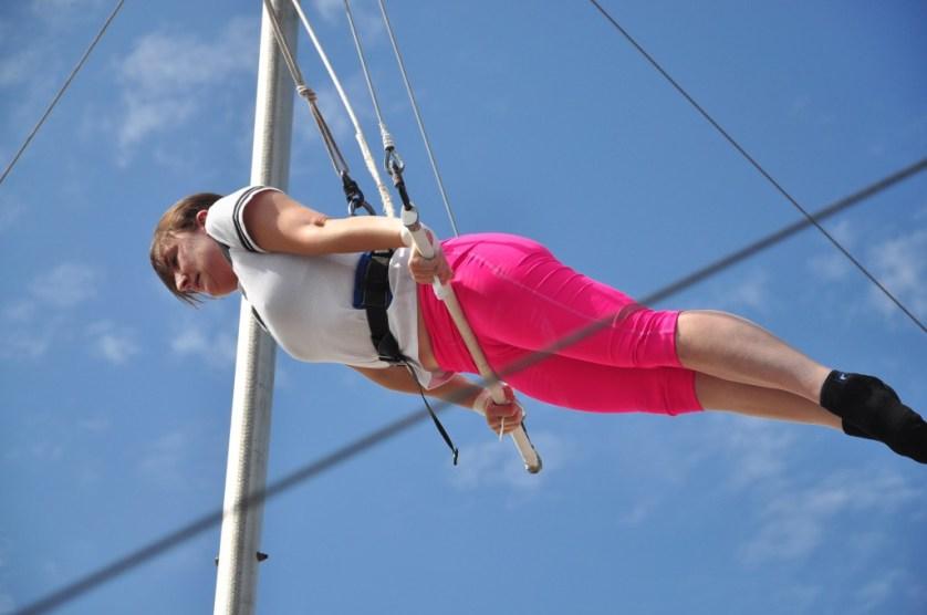 Trapeze Art Kathy Gruver
