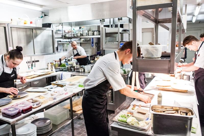 Pädaste Manor Kitchen