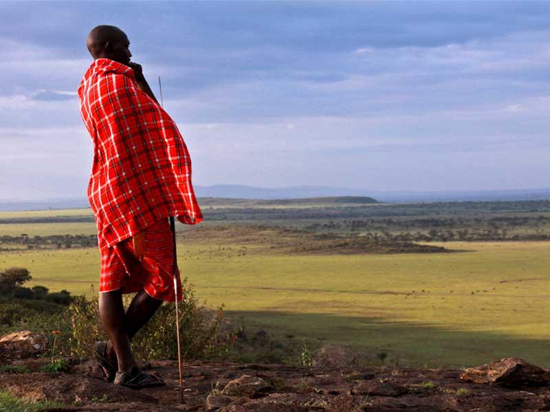 Masai Tribe Man