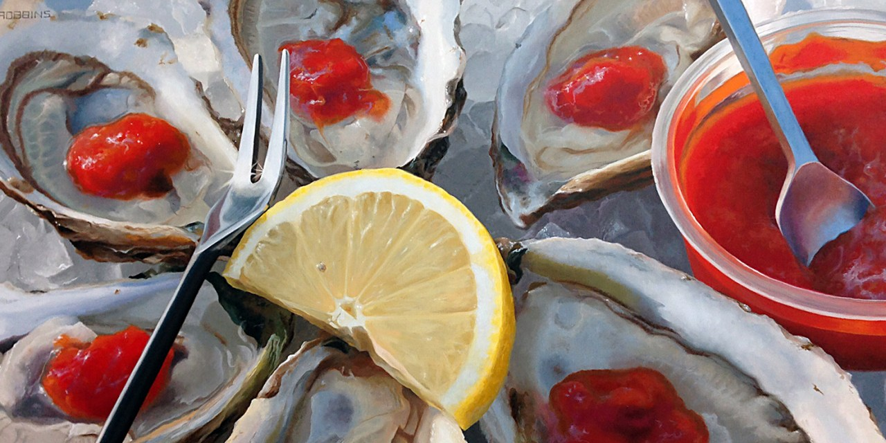 Nadine Robbins Paints Unconventional Portraits and Oysters