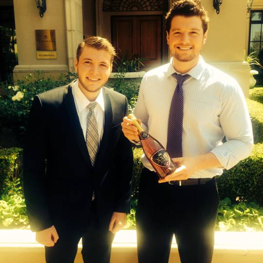 XXIV Karat Founders Nicholas Cowherd and Kegan Klein