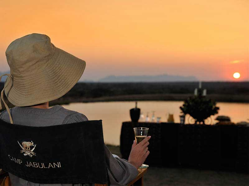 Camp Jabulani Sun Downer