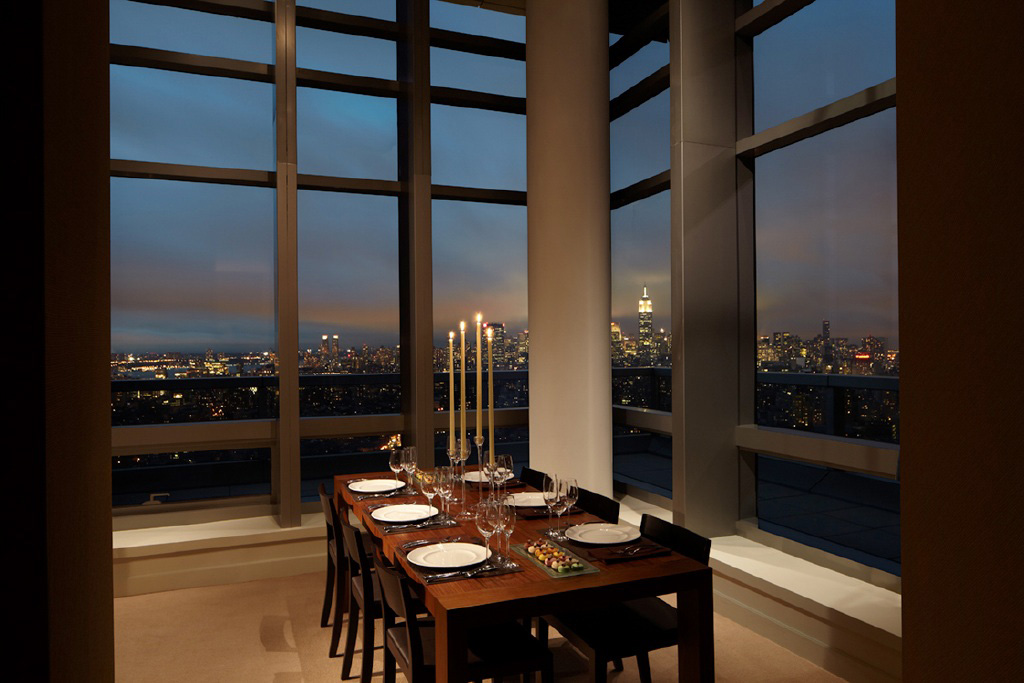 Penthouse Dining at Trump SoHo New York