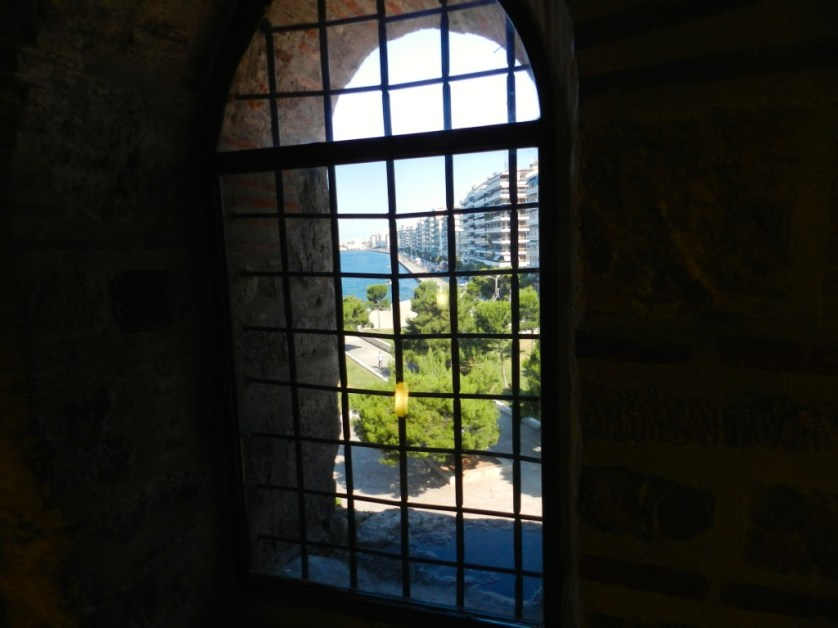From White Tower looking out on Thessaloniki