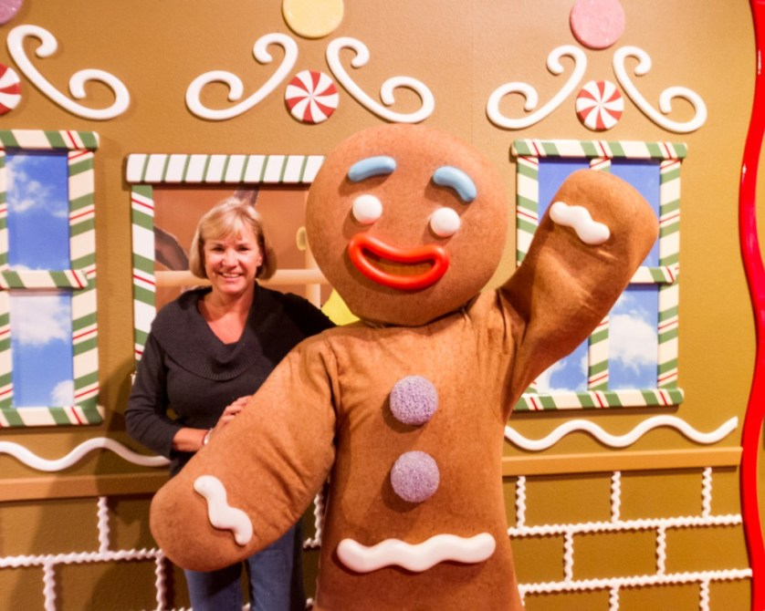 Debi with Gingy