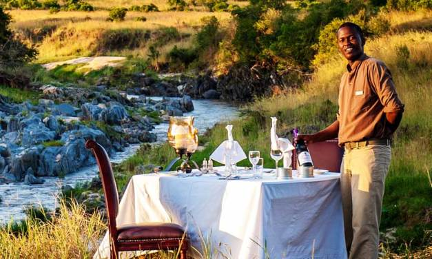 Eating Around the Kenya Bush!