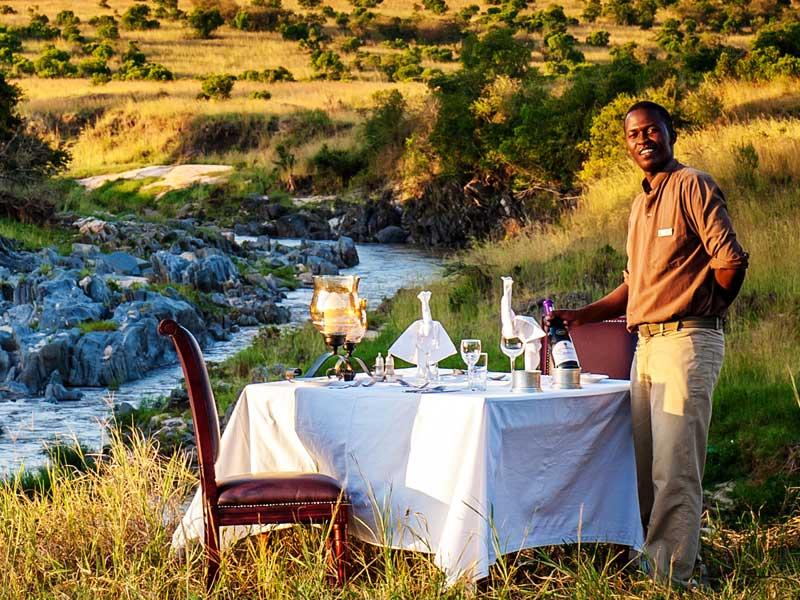 Eating Around the Kenya Bush!