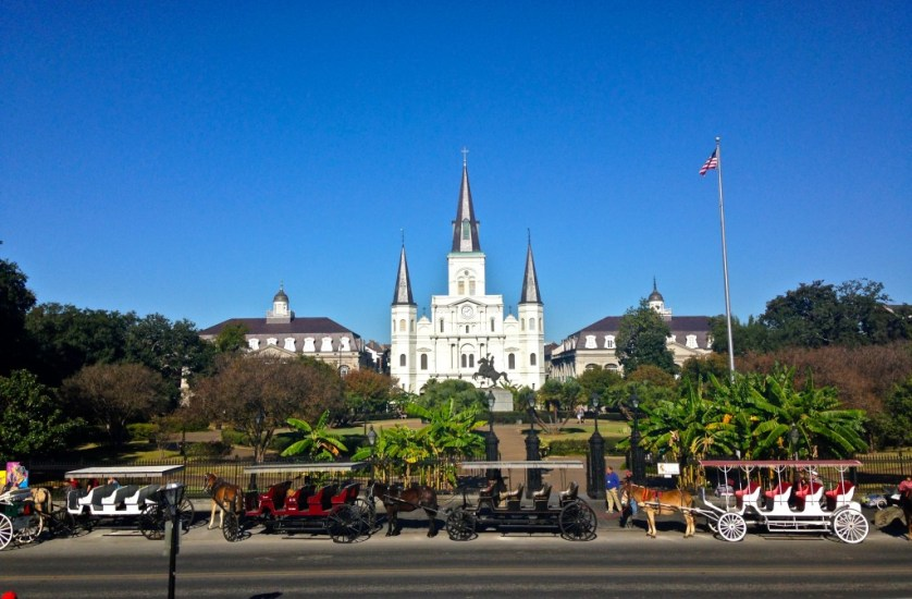 Jackson Square is considered the heart of the French Quarter. (Photography Jenna Intersimone)