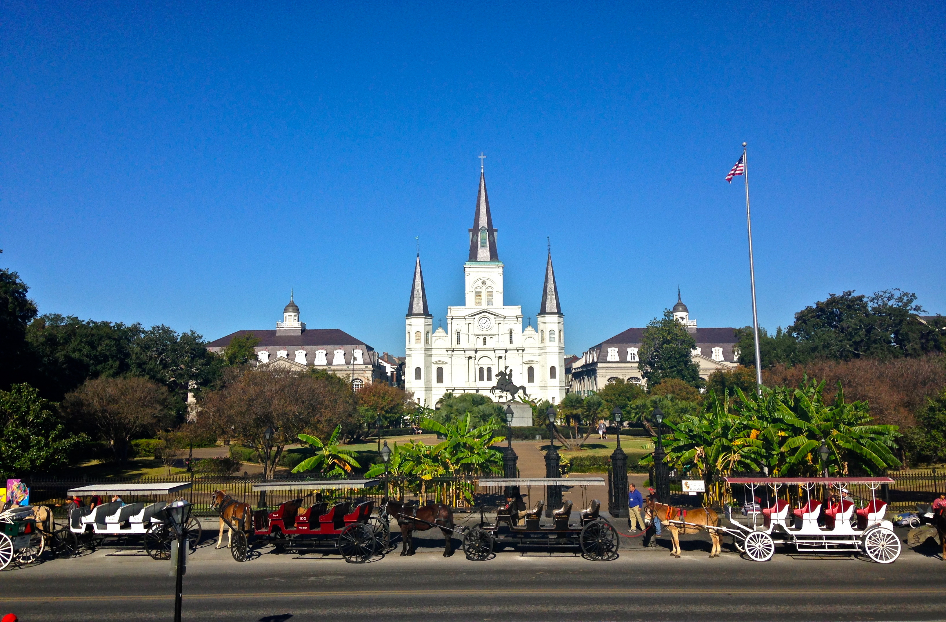 7e885608c61fd Jackson Square is considered the heart of the French Quarter. (Photography  Jenna Intersimone)