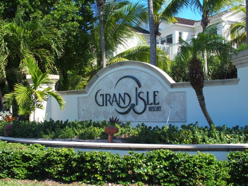 Grand Isle Resort entrance