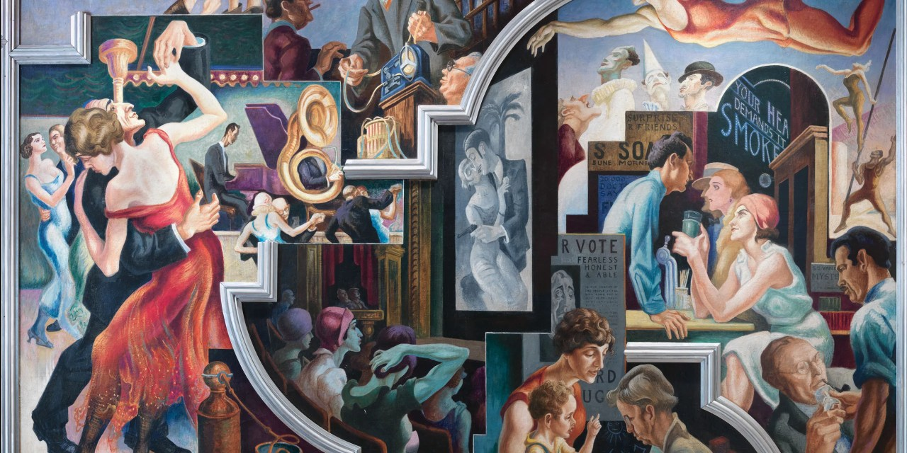 "Thomas Hart Benton's ""America Today"" Mural"