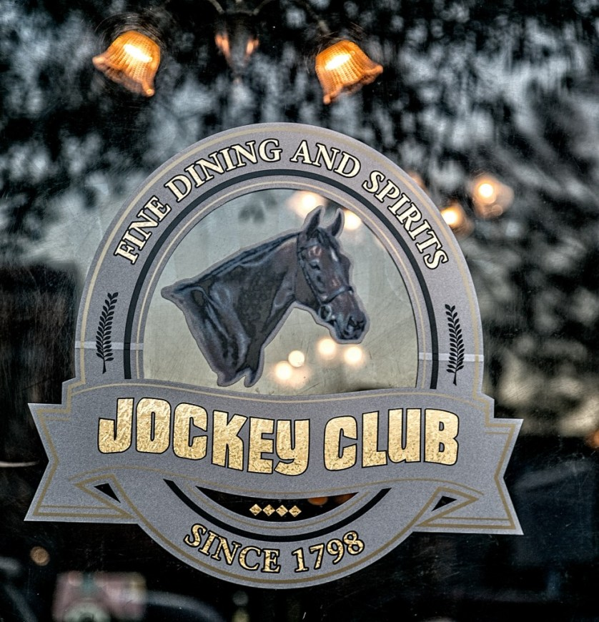 Jockey Club Sign