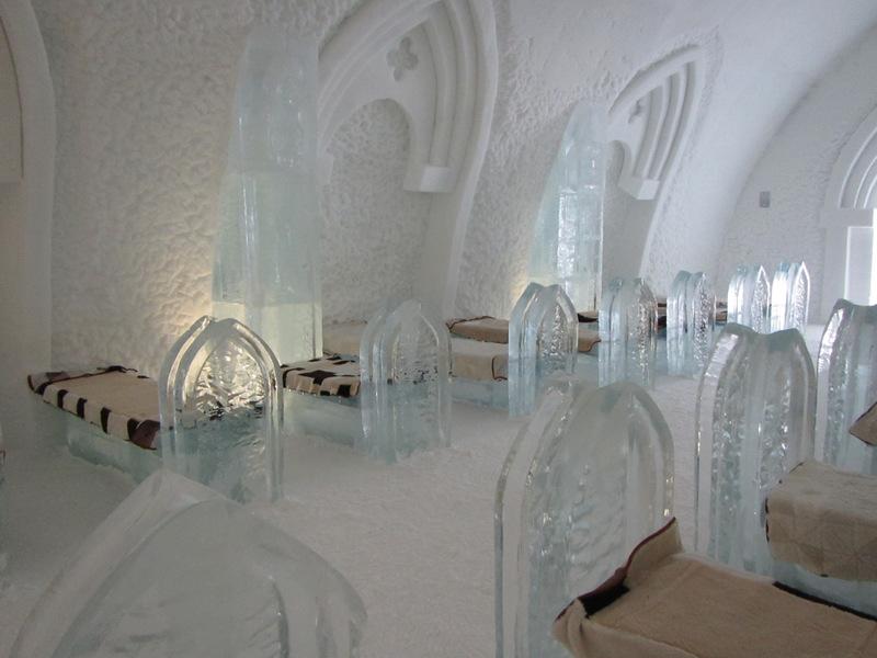 Sleeping on Ice in Quebec City