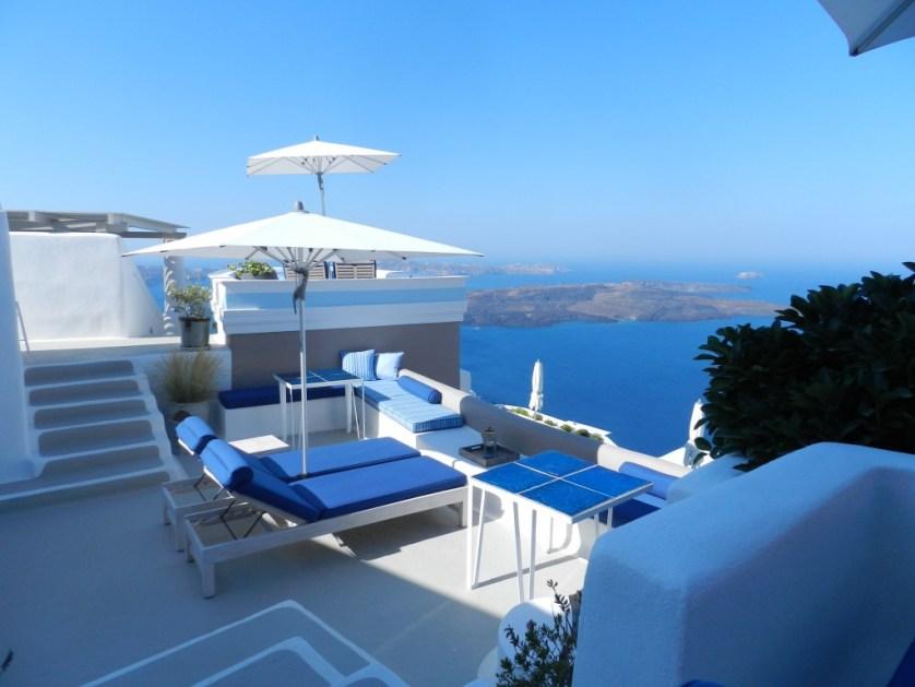 Terrace view - Photo: Maralyn D. Hill