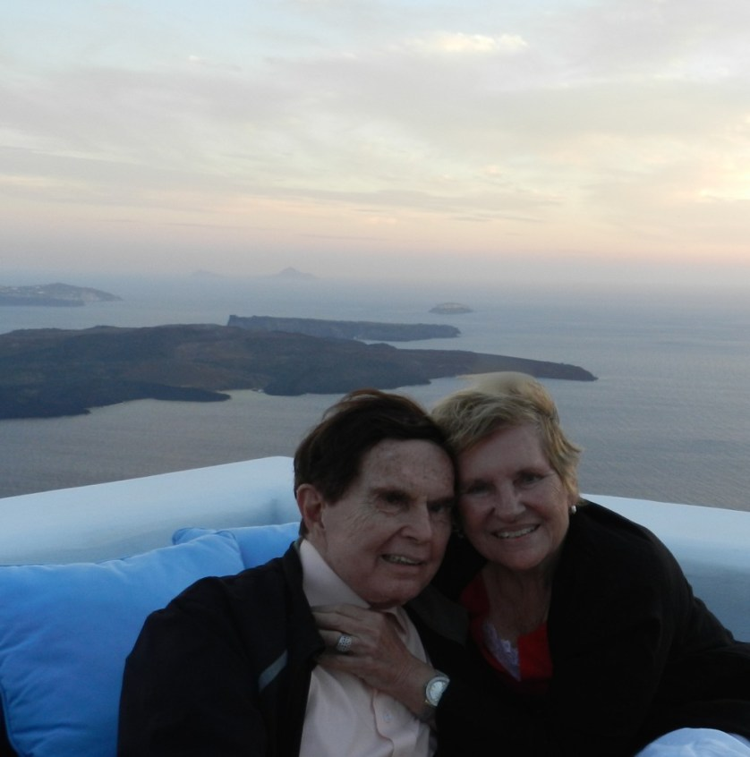 Norm and Maralyn Hill at the Iconic