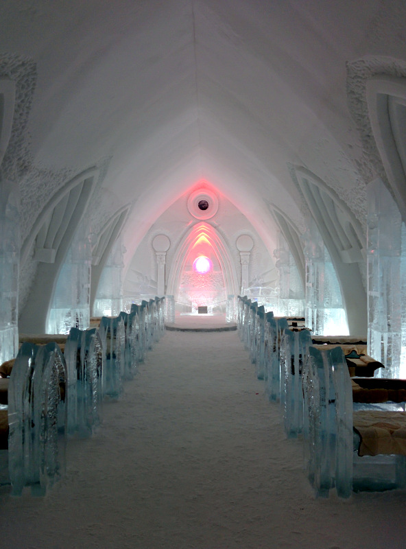 Chapel at Hôtel de Glace