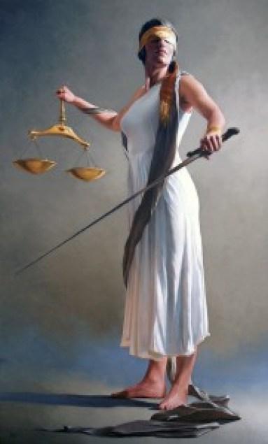 Justice by Bryan Larsen