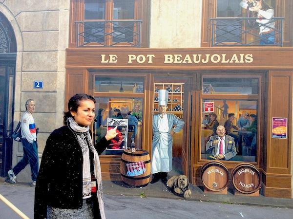 Superb Lyon Guide shows us Bocuse  trompe l'oeil