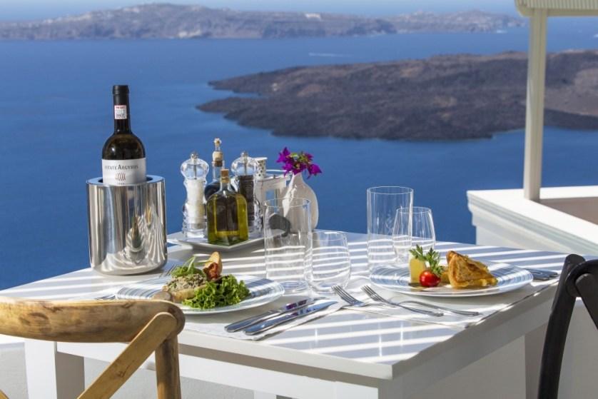 Pergla Restaurant - Lunch Courtesy Iconic Santorini