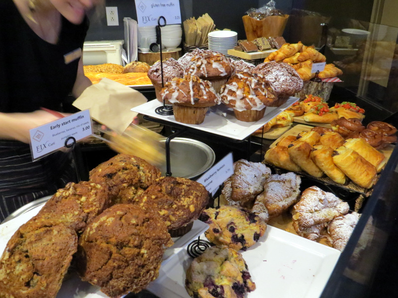 Pastries at Fix Cafe