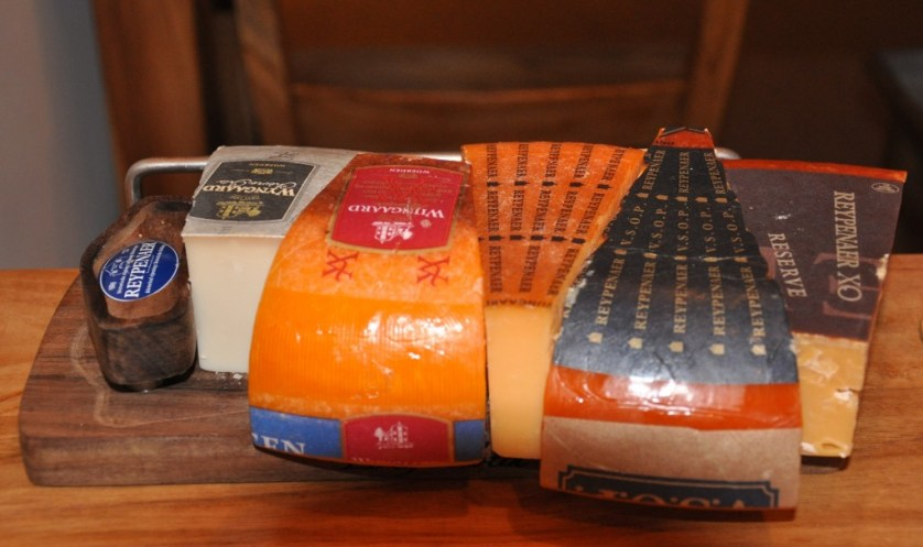 Reypenaer has a wide variety of cheese selections.
