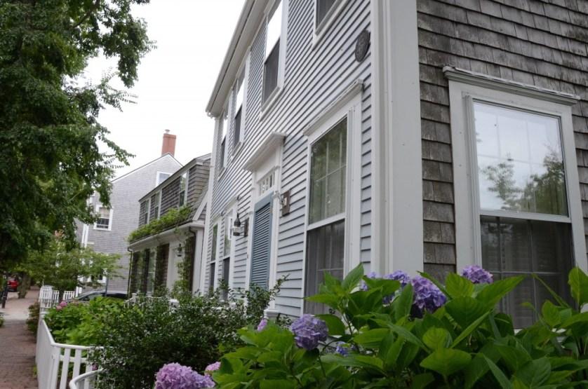 Beautiful homes on Nantucket.