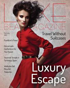 Luxe Beat Magazine February 2015 COVER