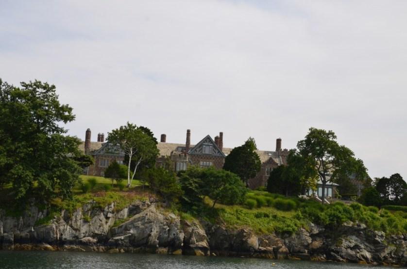Mansion in Newport.