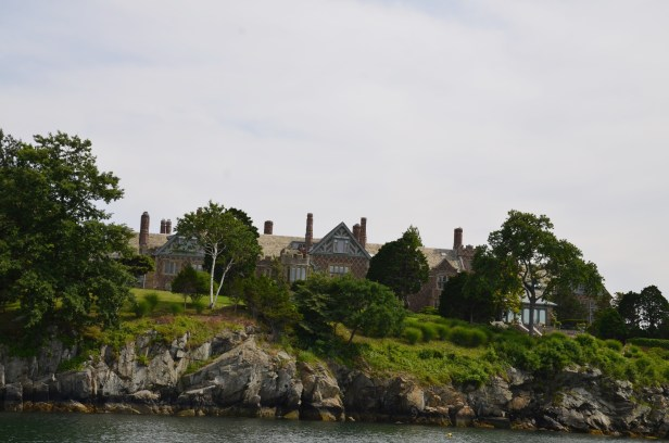 Mansion in Newport.