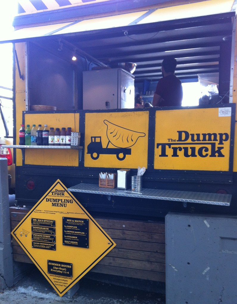 The Dump Truck food cart.