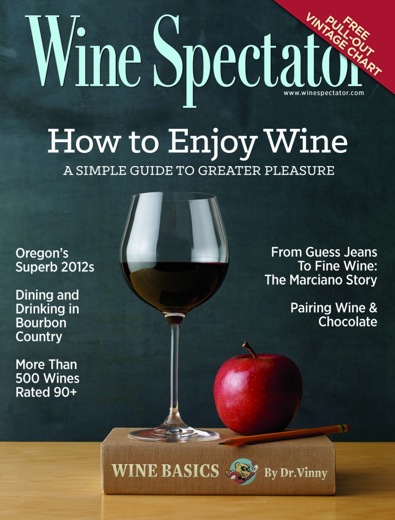 Wine Spectator Feb. 2015 Issue Cover