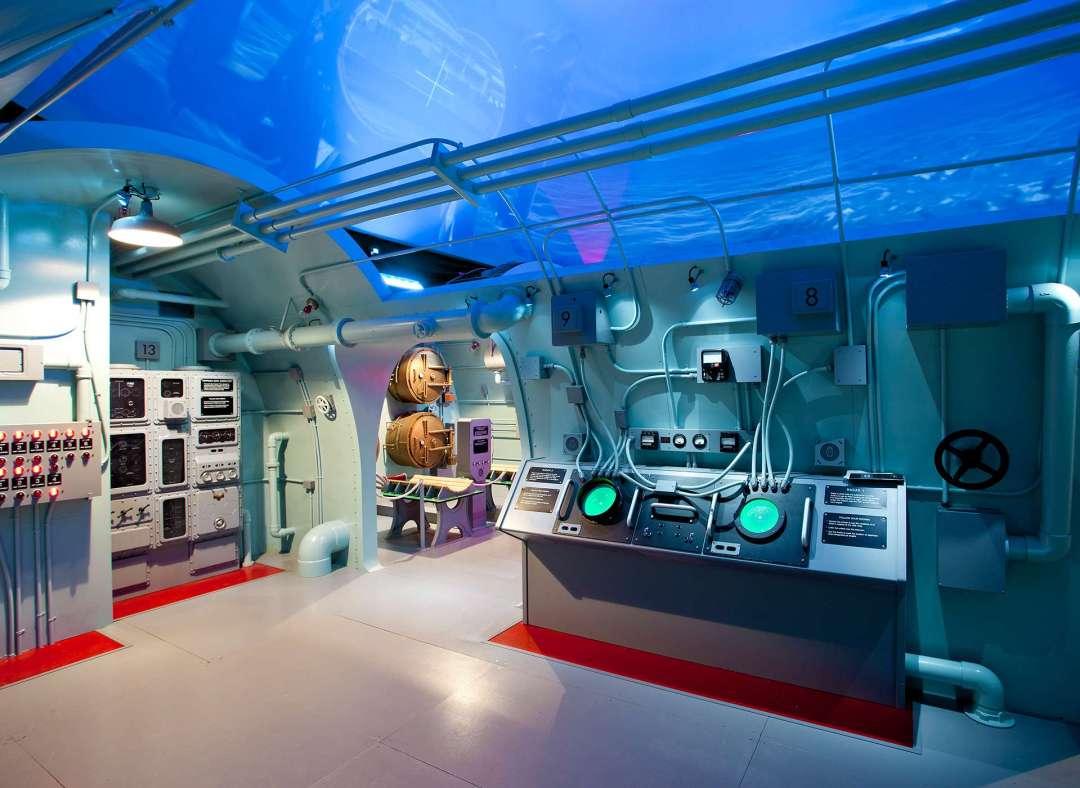 USS Tang Submarine Experience