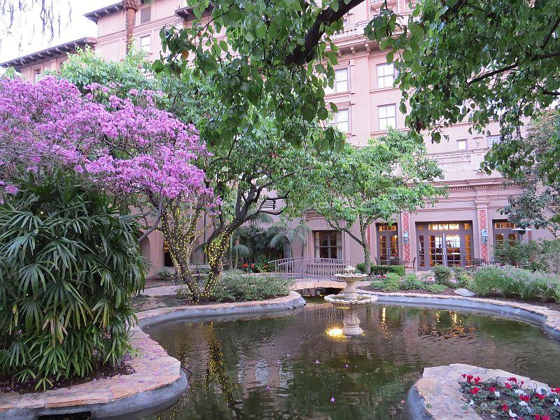Courtyard off Lobby at The Langham Huntington, Pasadena