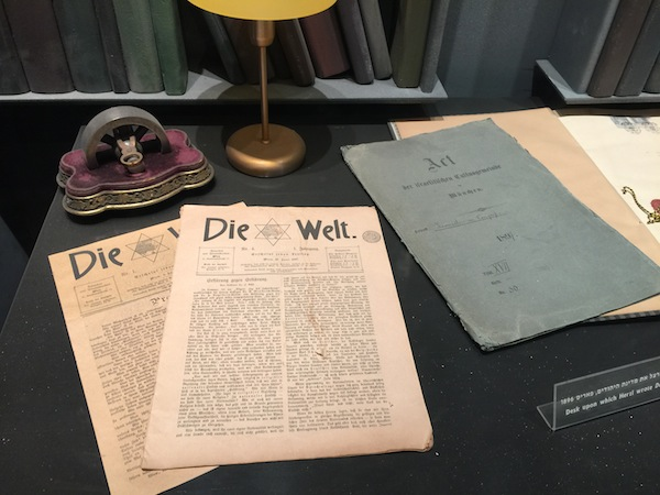 """Die Welt"" is publication founded in 1897 by Theodor Herzl"
