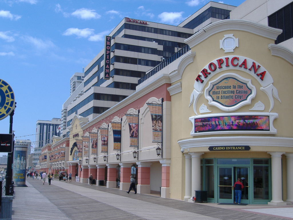 Dazzling lights are coming to the boardwalk to make way for some glitz as well as practical public safety. (Photo Courtesy of Wikipedia.com)