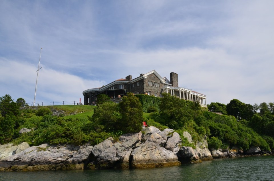 Another beautiful Newport mansion.