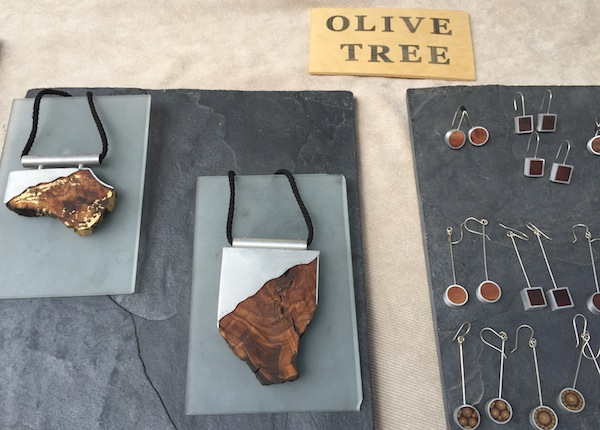Olive tree jewelry