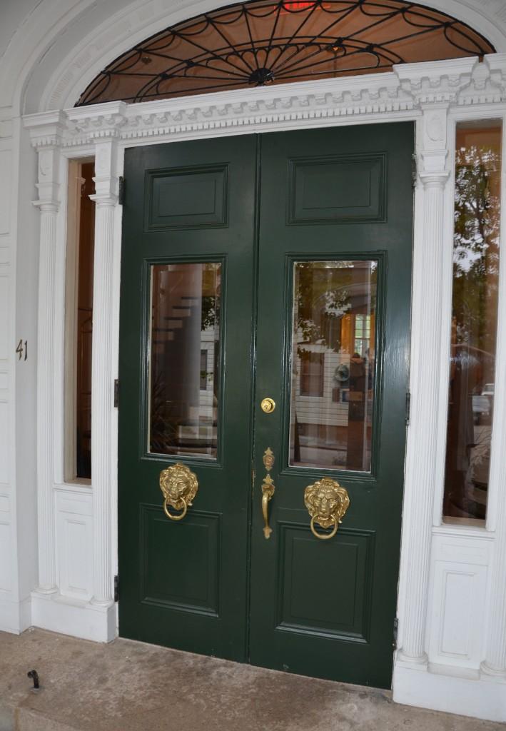 Front Doors to the Vanderbilt Grace Hotel.