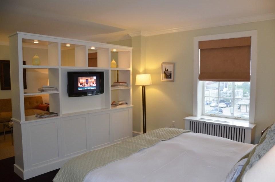 Suite at the Vanderbilt Grace Hotel.