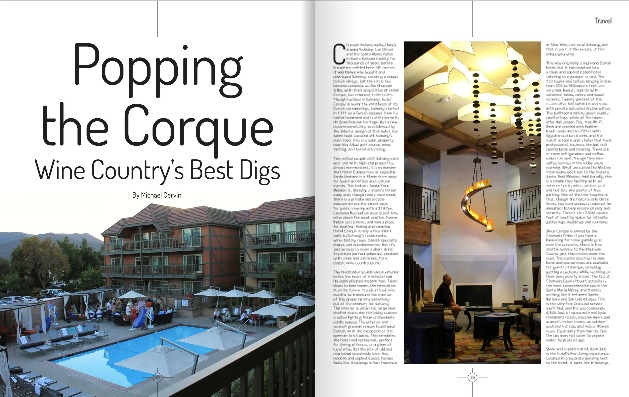 Popping the Corque by Michael Cervin (Luxe Beat Magazine December 2014)