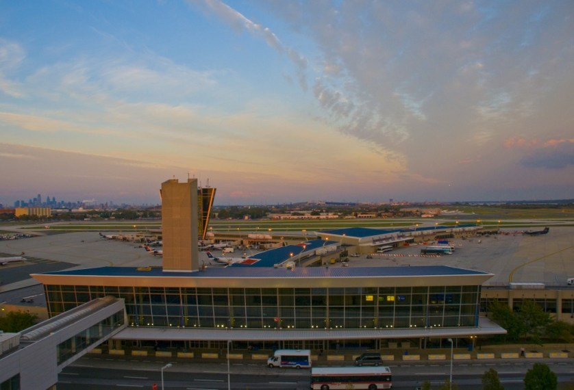 Outside view of PHL terminal