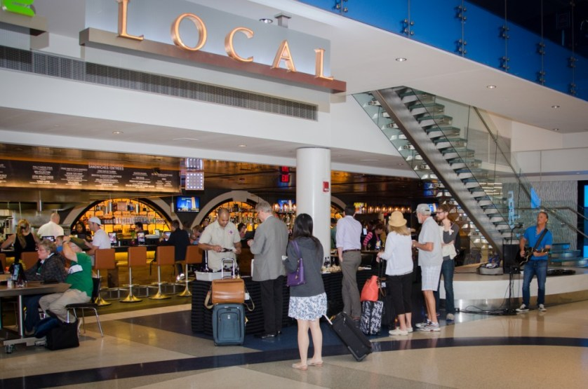 Summer Brew Series at Local in Terminal F. Photo courtesy Philadelphia International Airport